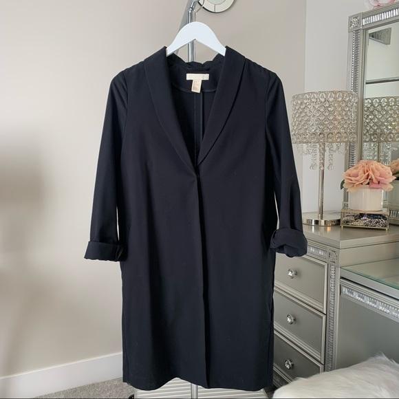 H&M long sleeve blazer size 0